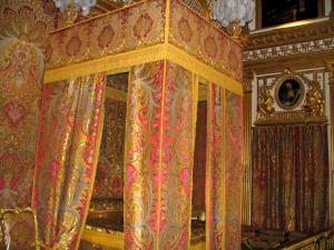 Palace of Versailles - Inside of the castle: King's bedroom