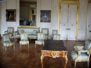 Palace of Versailles - Inside of the castle: Dauphin's apartment: Dauphin's grand cabinet