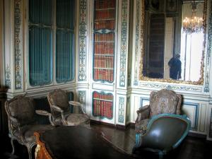 Palace of Versailles - Inside of the castle: Dauphin's apartment: library