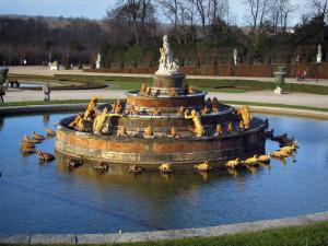 Park of the Palace of Versailles - Latone pond