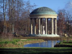 Park of the Palace of Versailles - Amour temple