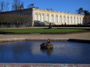 Park of the Palace of Versailles - Grand Trianon and lake