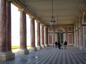 Park of the Palace of Versailles - Columns of the Grand Trianon