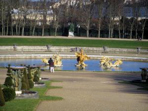 Park of the Palace of Versailles - Water alley and the Dragon pond