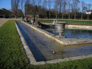 Park of the Palace of Versailles - Neptune pond