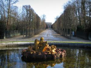Park of the Palace of Versailles - Saturn pond or Winter pond