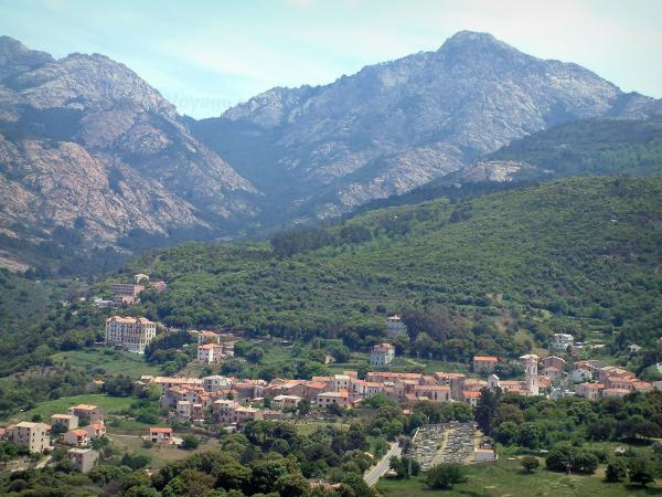 Piana - Tourism, holidays & weekends guide in the Southern Corsica