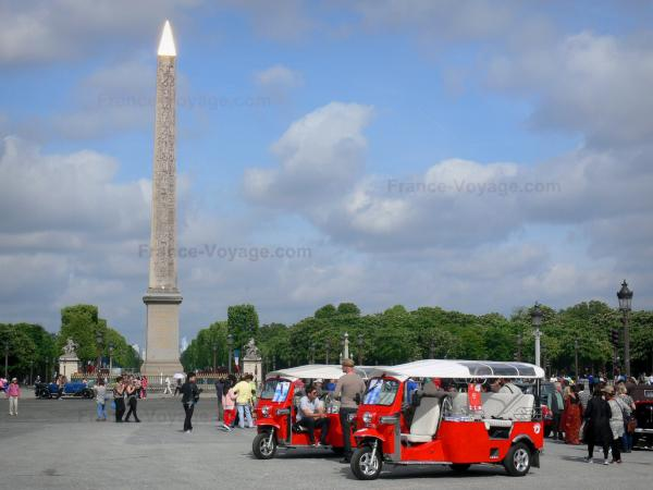 La place de la Concorde - Guide tourisme, vacances & week-end à Paris