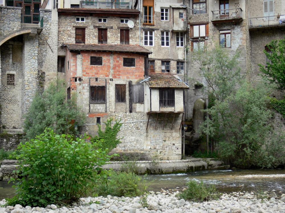Foto 39 s pont en royans gids toerisme recreatie - Gevels van hedendaagse huizen ...