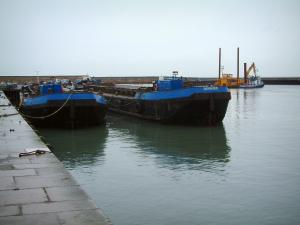 Port-en-Bessin - Boot dok-en vissershaven
