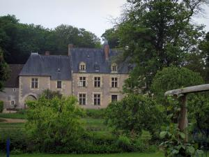 Possonnière manor house - Birth house of Pierre de Ronsard in the Loir valley