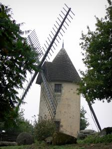 Pouzauges - One of the two Den-hammer mills
