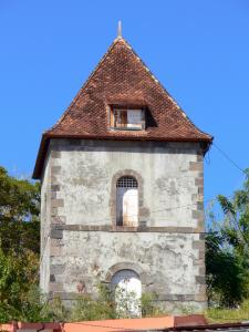 Le Prêcheur - Old bell tower, a vestige of the old church Preacher