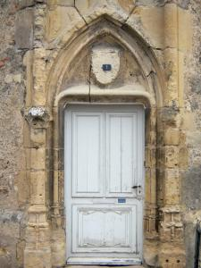 Prémery - Portal of the castle of the Bishops of Nevers