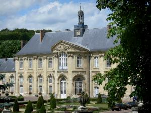 Prémontré abbey - Former Prémontré abbey (hospital): building and gardens