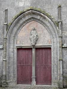 Provins - Portal of the Saint-Quiriace collegiate church