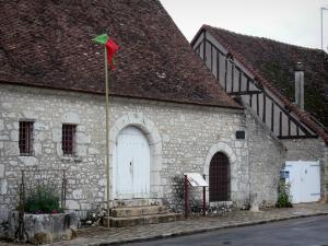 Provins - Holy Spirit Cellar (former hospital)