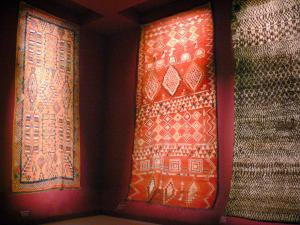 Quai Branly museum - Africa collection: rugs
