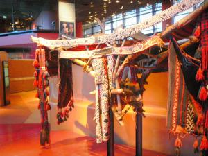 Quai Branly museum - Africa collection: palanquin for the trip