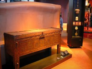 Quai Branly museum - Africa collection: wedding chest