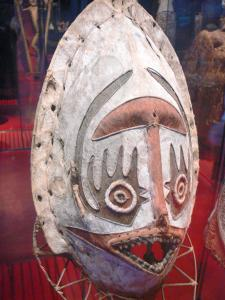 Quai Branly museum - Oceania collection: mask