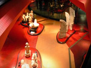 Quai Branly museum - Collection pieces of the museum