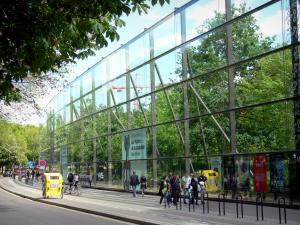 Quai Branly museum - Posters of the temporary exhibitions of the museum