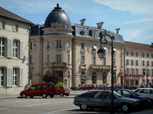 Remiremont - Buildings of the city