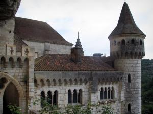 Rocamadour - Former Episcopal palace home to the Sacred Art museum