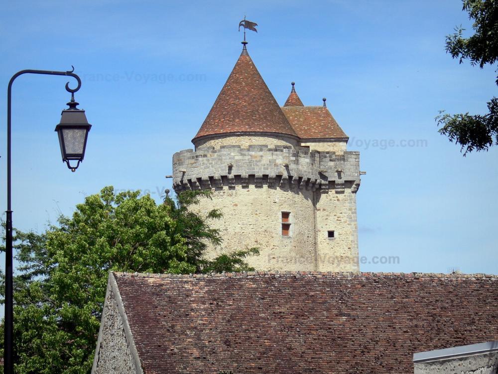 Foto la roccaforte di blandy les tours guida turismo e for Piani di casa castello medievale