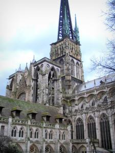 Rouen - Notre-Dame cathedral of Gothic style