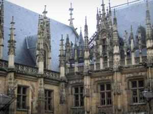 Rouen - The palais de justice (law courts)