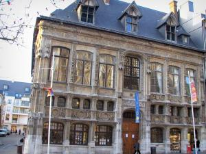 Rouen - Renaissance building (Finance office)