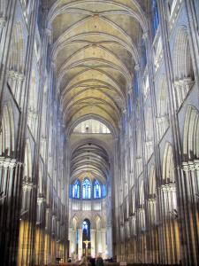 Rouen - Inside of the Notre-Dame cathedral