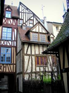 Rouen - Timber-framed houses