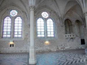 Royaumont abbey - Former refectory of the monks