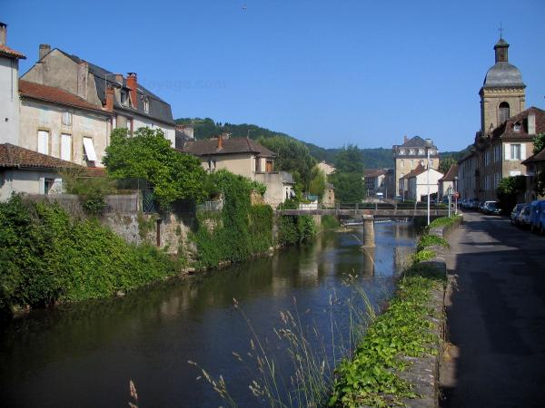 Saint-Céré - Tourism, holidays & weekends guide in the Lot