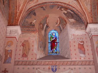 Saint-Chef frescoes