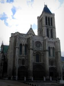 Saint-Denis basilica - Royal basilica of Gothic style (royal cemetery)