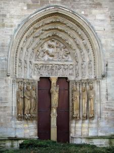 Saint-Denis basilica - Portal of the royal basilica