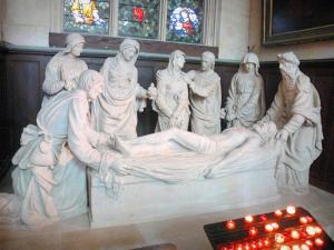 Saint-Étienne-du-Mont church - Inside the church: Entombment
