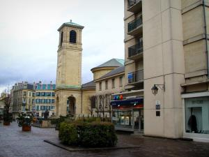 Saint-Germain-en-Laye - Church and buildings of the city