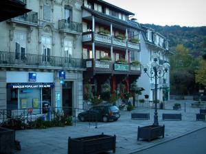 Saint-Gervais-les-Bains - Houses of the spa town