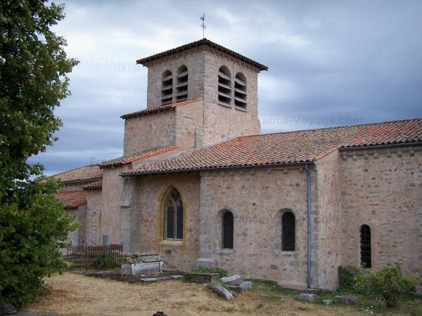 Saint-Haon-le-Châtel - Romanesque church