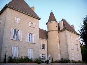 Saint-Sorlin-en-Bugey - Château home to the private high school for agricultural education of Saint-Sorlin; in Lower Bugey
