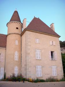 Saint-Sorlin-en-Bugey - Château home to the private high school for agricultural education of Saint-Sorlin