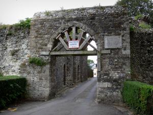 Saint-Valery-sur-Somme - Upper town (medieval town): Guillaume gateway