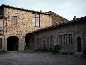 Sainte-Croix-en-Jarez - Buildings of the former Carthusian monastery (former convent); in the Regional Natural reserve of Pilat