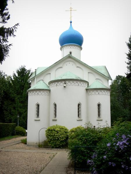 Sainte genevi ve des bois orthodox church 6 quality high definition images - Ste genevieve des bois ...