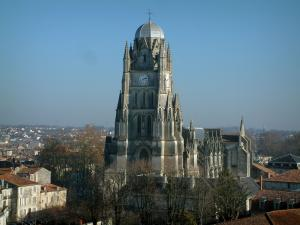 Saintes - Saint-Pierre cathedral of Gothic style